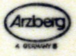 Porzellanfabrik Arzberg  (mark green 1977-1999 r.)