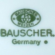 Bauscher Weiden Germany (mark green 1920-...)