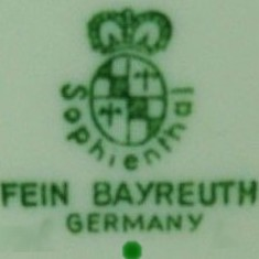 Fein Bayreuth Sophienthal Germany(mark green - po 1948 r.)