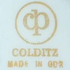 Veb Porzellankombinat Colditz  (mark gold 1970-1990 r.)