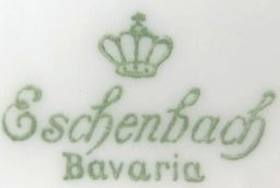 Oscar Schaller& Co Nachf. - Eschenbach Bavaria  (mark green 1945-1950 r.)