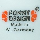 Paul Rauschert KG - Funny Design - W.Germany - 1972 r.