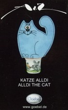 "Goebel - ""Katze Alldi"" - design T.Adam & S.Ziege - Germany"
