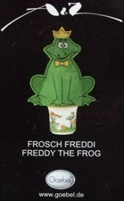 "Goebel - ""Frosch Freddi"" - design T.Adam & S.Ziege - Germany"