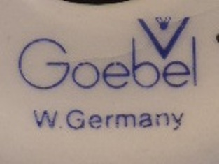 Goebel -  W. Germany - 1979 r. (mark blue 1979)