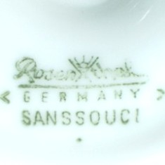 Rosenthal Sanssouci (mark green 1957 r. - >)