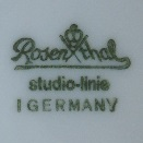 Rosenthal AG -  studio-linie. Form: Polygon (mark green od 1973 r>heute)