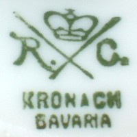 Philip Rosenthal & Co.-l Kronach-Bavaria R.C. (mark green 1901- 1906 r.)
