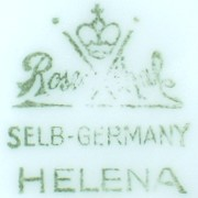 Philip Rosenthal & Co.- Selb-Germany, Form: Helena (mark green 1940 r.)