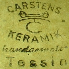 Extra - Karsten Keramik Tessin W.Germany mark black)