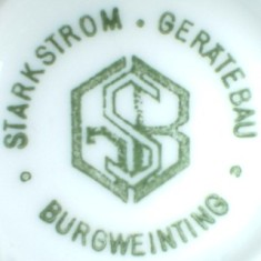 Starkstrom  Geratebau - Burgweinting (mark green...)