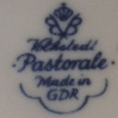 Volkstedt- B & B (1931-1990 r.) Pastorale made in GDR