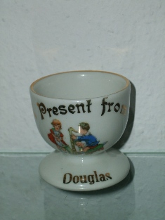 "Foreign-f -"" A Present from Douglas"" (mark gold 19) Side A."