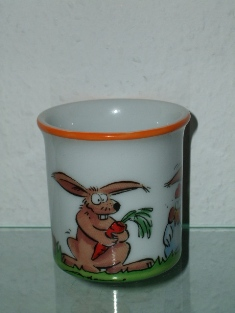 "Goebel - ""Hase Horst"" - design T.Adam & S.Ziege - Germany, Side B."
