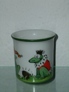 "Goebel - ""Frosch Freddi"" - design T.Adam & S.Ziege - Germany, Side C."