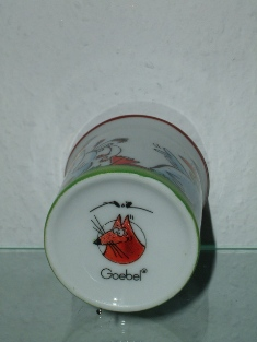 "Goebel - ""Fuchs Steffen"" - design T.Adam & S.Ziege - Germany"